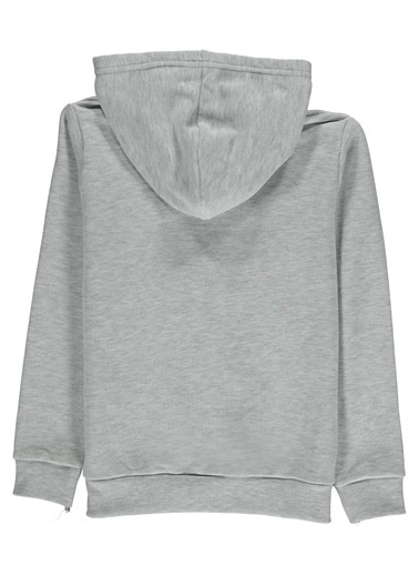 Morhipo Kids Kapşonlu Sweatshirt Baskılı Beyaz